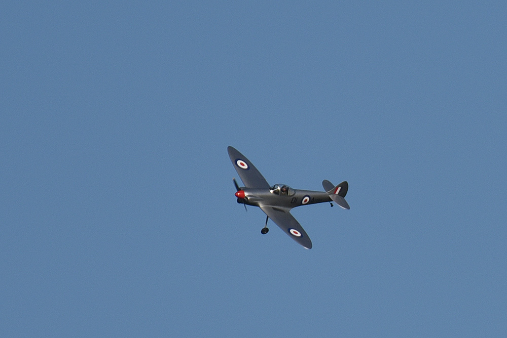 Picture of a Spitfire plane