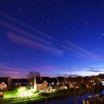 Picture of an ISS pass on Christmas Eve