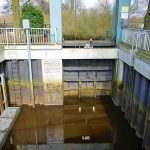 Picture of the top of the lock at Kuhsiel