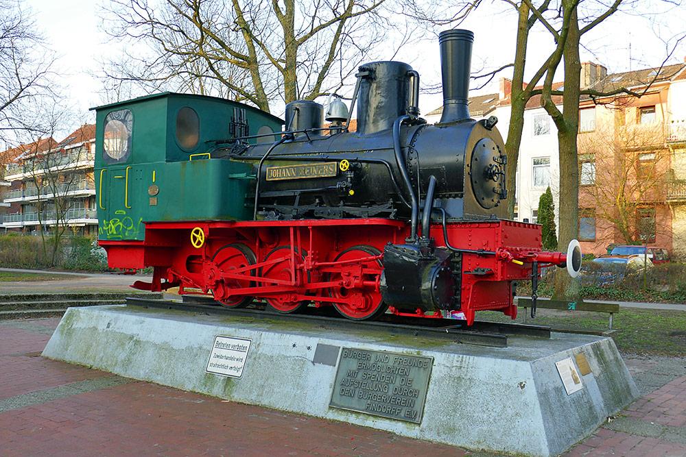 Picture of the Jan Reiners narrow gauge locomotive