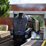 Picture of steam locomotive 60009 Union of South Africa at the platform