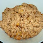 Walnut and Hemp Bread (1) - fresh dough