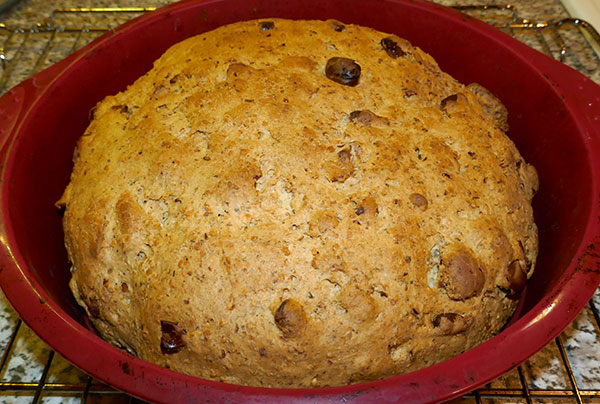 (2) Hemp Cashews Almond bread fresh out of the oven